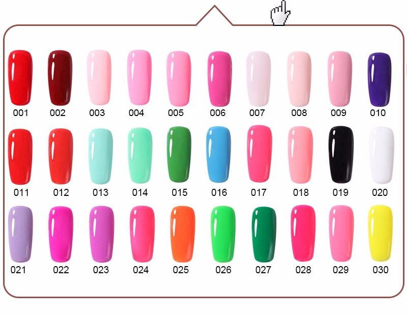 BELLE FILLE UV Gel Nail Polish 7.3ml UV & LED Nails Gel Long-Lasting Color Varnish Any One Piece From 308 Color Nail Gel Polish