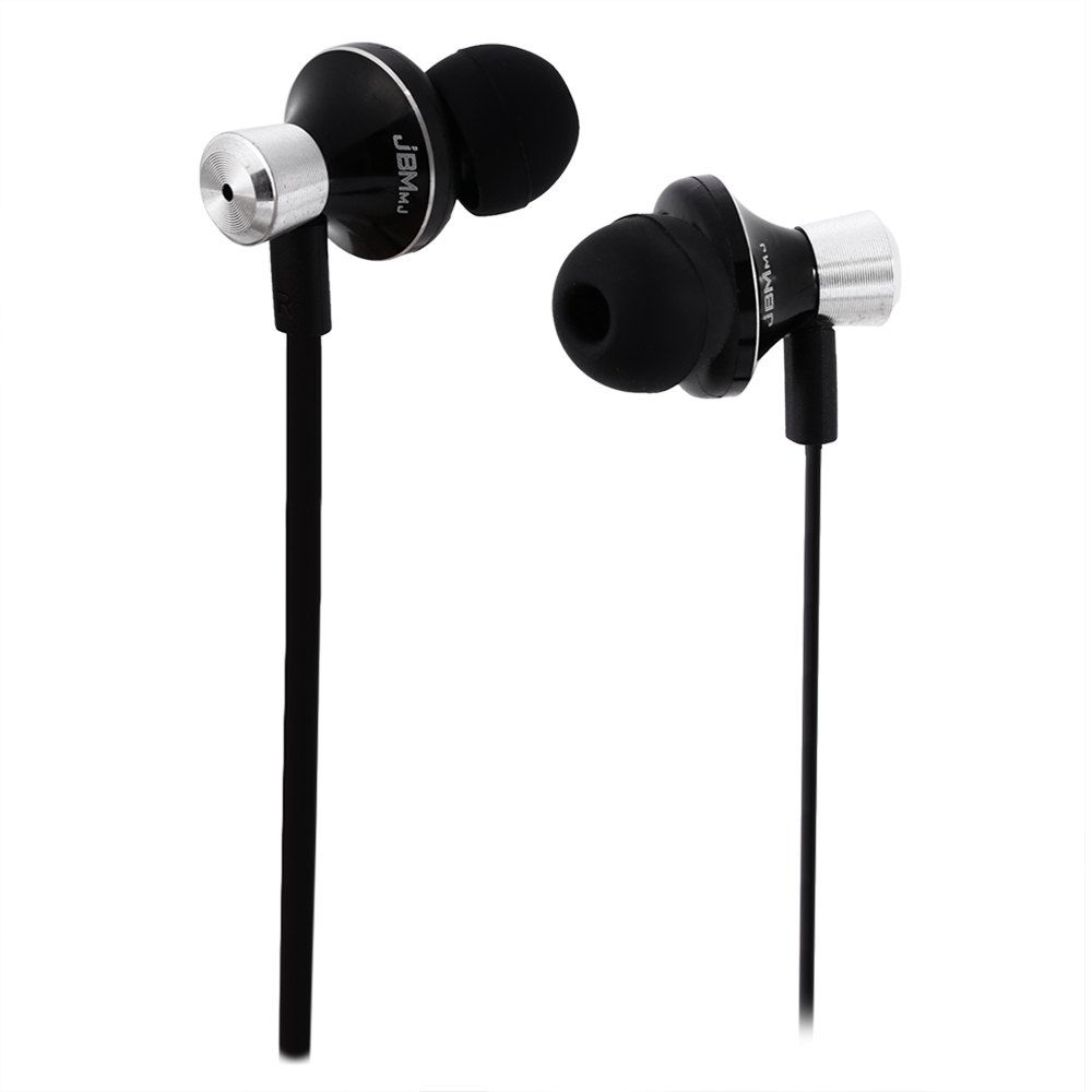 JBMMJ MJ9013 Intelligent Mobile Phone In Ear Headset Earphones with MIC and Burn-in Software CD for iPod iPhone Samsung HTC etc(China (Mainland))