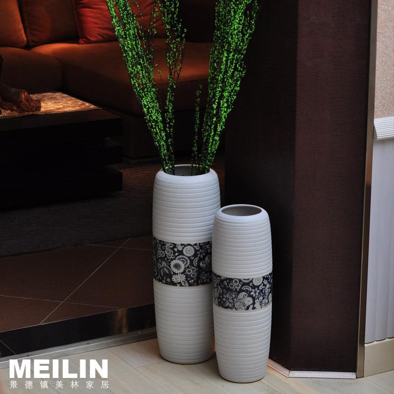 Fashion Modern Home Decoration Ceramic Brief Large Floor