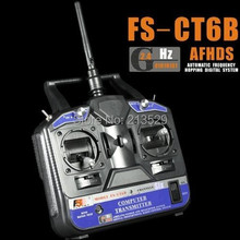 Low Power 2.4G FS-CT6B Radio Model 6CH RC Transmitter & Receiver Heli/Airplane/Glid,