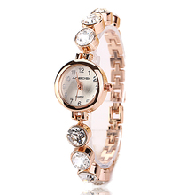 77 Fashion Hot Selling Casual Stainless Steel Luxury Bracelet Jewelry Wristwatch Women Dress Sport Lady Cause Watch XR720