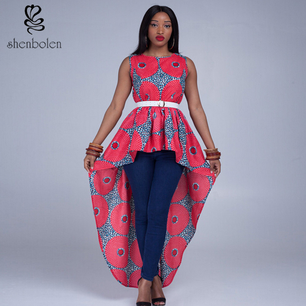 African tribal high fashion