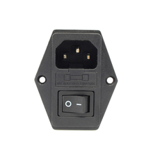 1Pcs 110V 220V 15A Makerbot Power Outlet With Switch And Fuse For Makerbot 3D Printer
