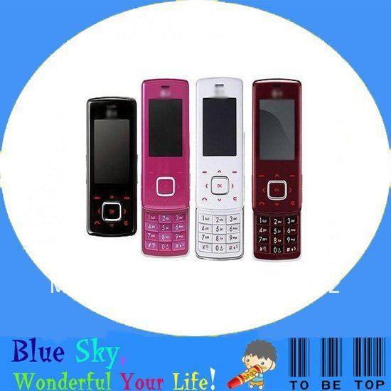 wholesale 4 colors refurbished original Slider phone LG Chocolate KG800(China (Mainland))