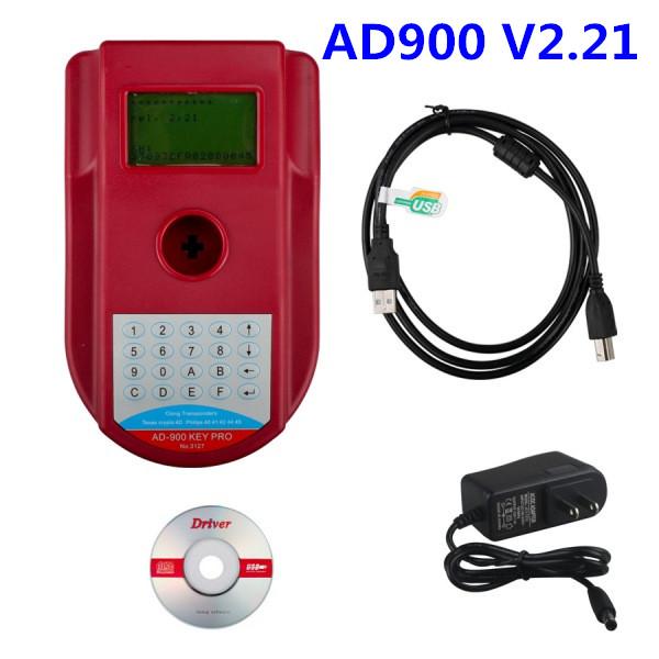 DHL&EMS Free! AD900 Pro Key Programmer V2.21 Auto Key Prog AD900 can program the eeprom of ecu and programming key high quality(China (Mainland))