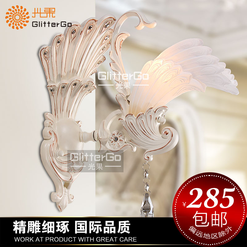 Fashion wall lamp light crystal rustic lighting brief bedroom bedside lamp wall lights gw<br><br>Aliexpress
