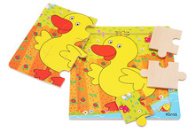 wooden baby jigsaw puzzle jointed board Tile Game Puzzle Man Children's early education infant