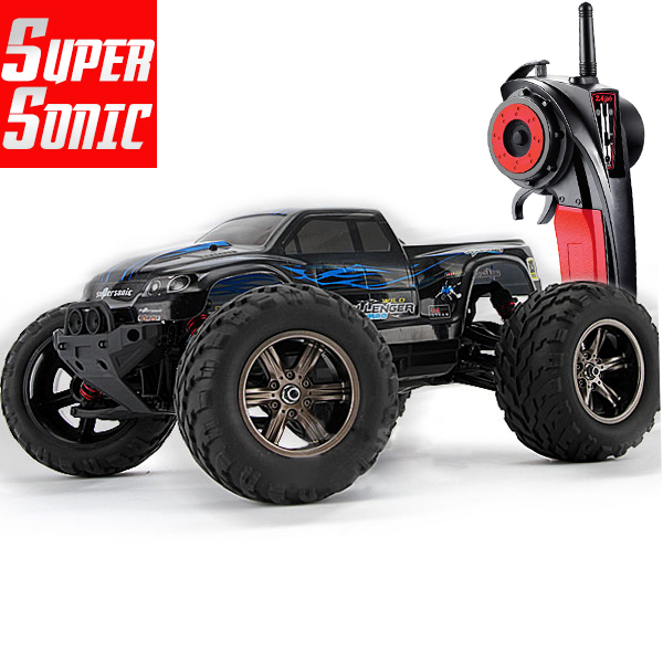 40kmh+ 2015 New 1/12 scale Electric rc monster truck Off road 2.4Ghz 2WD high speed remote controlled car all included RTR(China (Mainland))