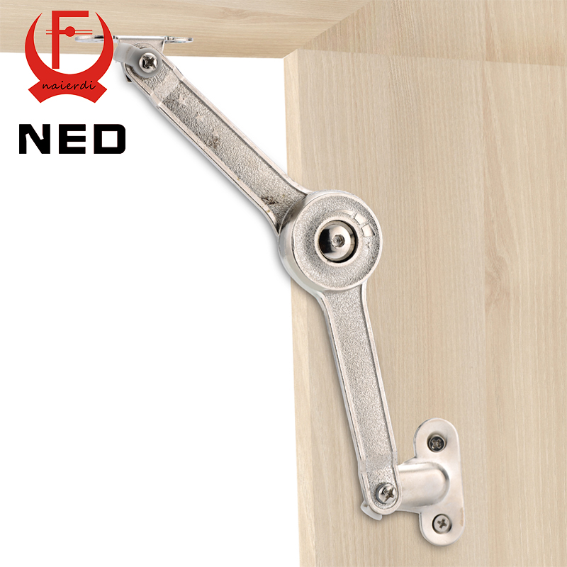 NED Randomly Stop Adjustable Hinge Cabinet Cupboard Door Furniture Lift Up Strut Lid Flap Stay Support Hydraulic Hinges Hardware(China (Mainland))