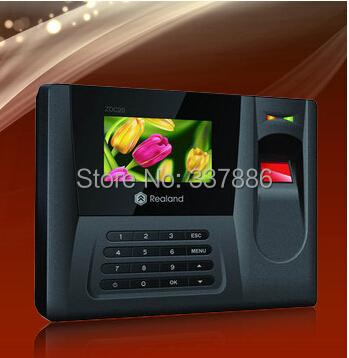 2.8 inch  Screen fingerprint time attendance machine price