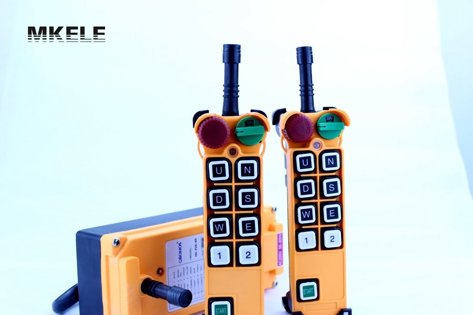 Фотография High Quality New Arrivals Crane Industrial Remote Control HS-8S Wireless Transmitter Push Button Switch China