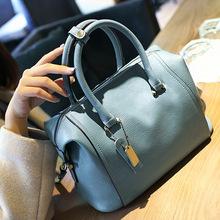 2016 Women Bag PU Leather Vintage Handbags High Quality Bolsa Femininas Fashion Women Messenger Bags Free shipping CW1750-2