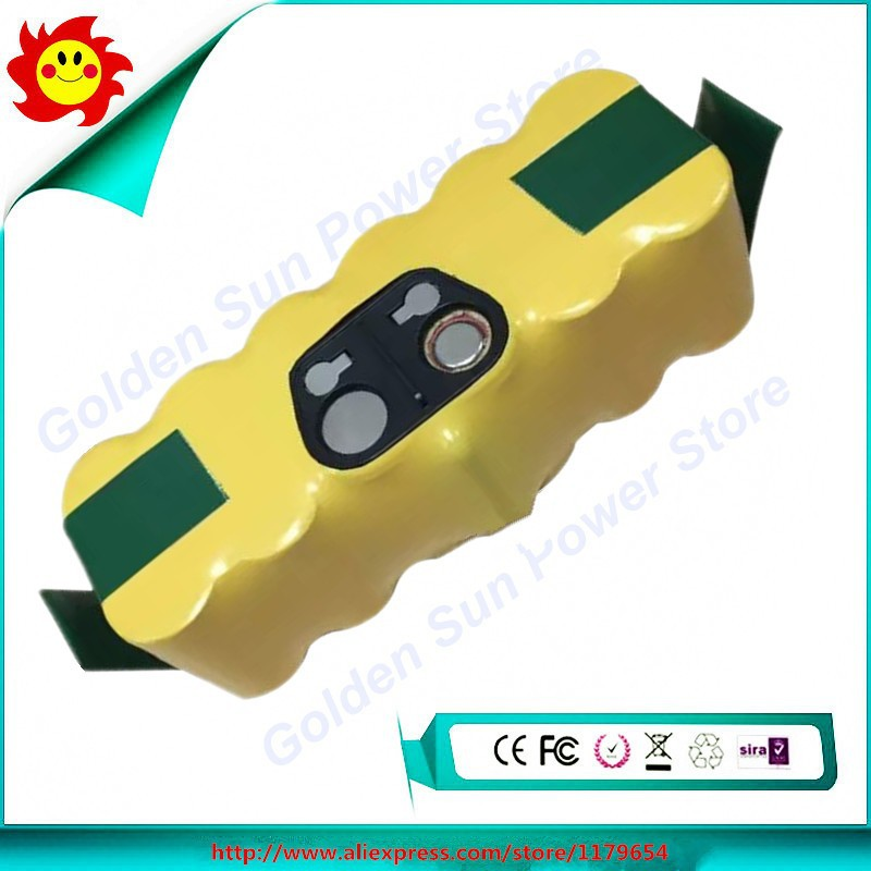 OEM 14.4V 4000mAh Ni-Mh APS battery for Roomba 80501 510 770 780 790 Vacuum Cleaner Battery(China (Mainland))