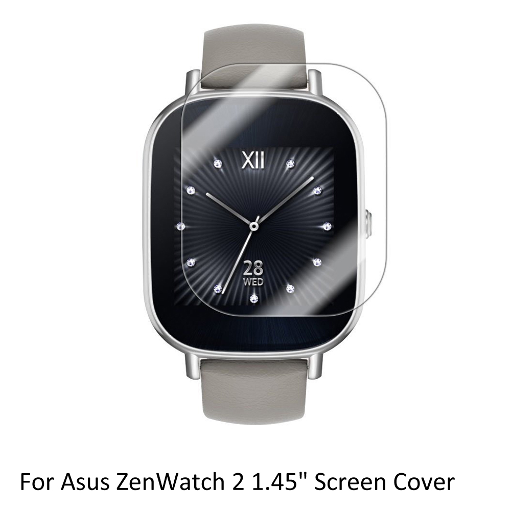 3x Clear LCD Screen Protector Guard Cover Shield Film Skin for <font><b>Asus</b></font> ZenWatch 2 1.45'' Sporting <font><b>Smart</b></font> <font><b>Watch</b></font> Accessories