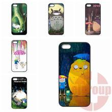Huawei P6 P7 P8 mini Lite Honor 3C 4C 6 7 Mate 8 P9 Plus G6 G7 G8 4X 5X Adventure Time Totoro TPU Hard Plastic - EJ Groups Co., Ltd store