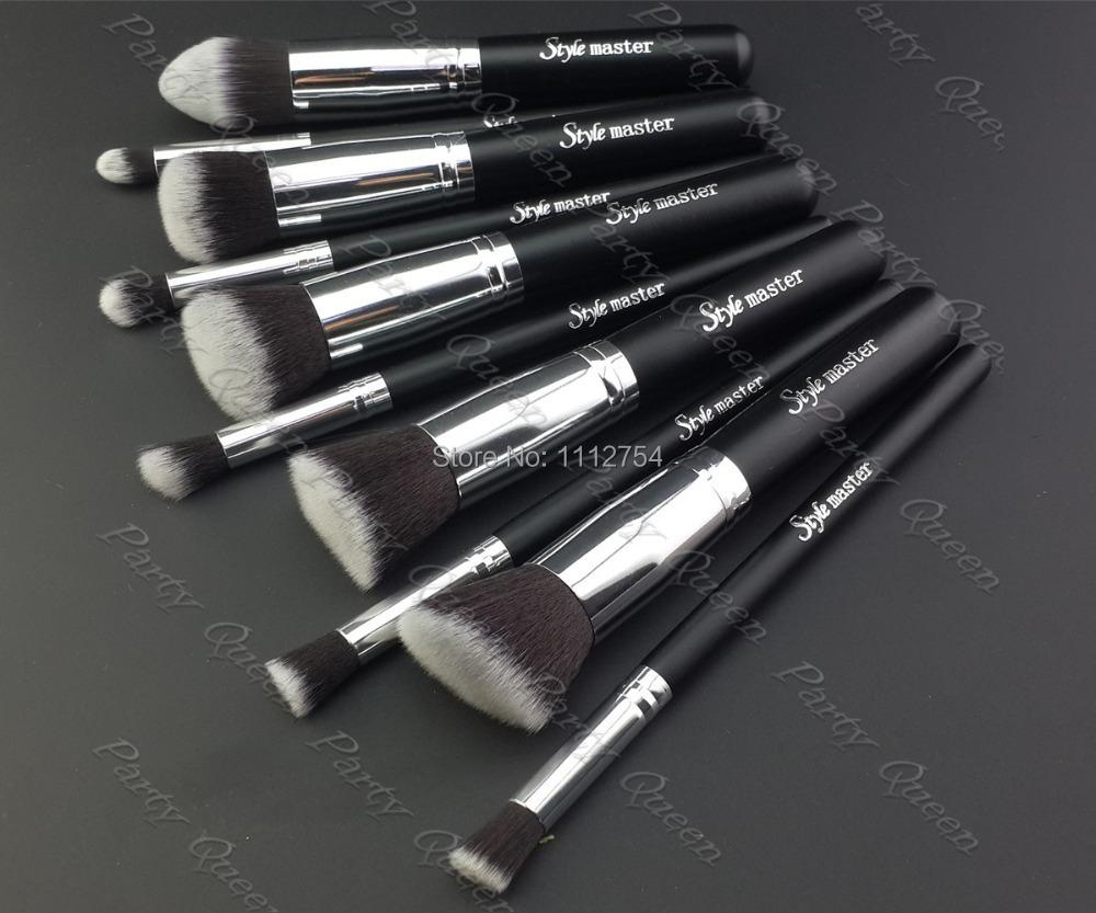 Кисти для макияжа Style master 10 /bs34s + Portable brush set