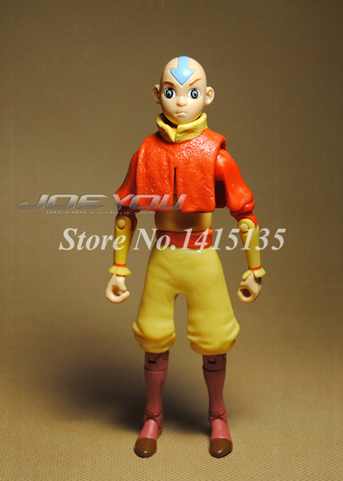 Legend Of Korra Toys : Avatar last airbender aang moving model anime cartoon