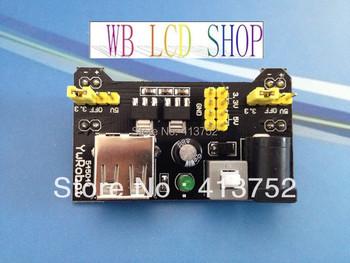 Breadboard Power Supply Module 3.3V 5V MB-102 Solderless Bread Board for arduino New dedicated power module for arduino