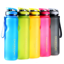 Free BPA My Plastic Bottle for Water (600ml/1000ml) Portable Water Bottle Sports For Outdoors Travel Hiking Drinkwar Cup(China (Mainland))