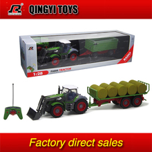 QYTOYS hot selling 1:28 6CH Multifunctional RC trailer tractor truck(China (Mainland))