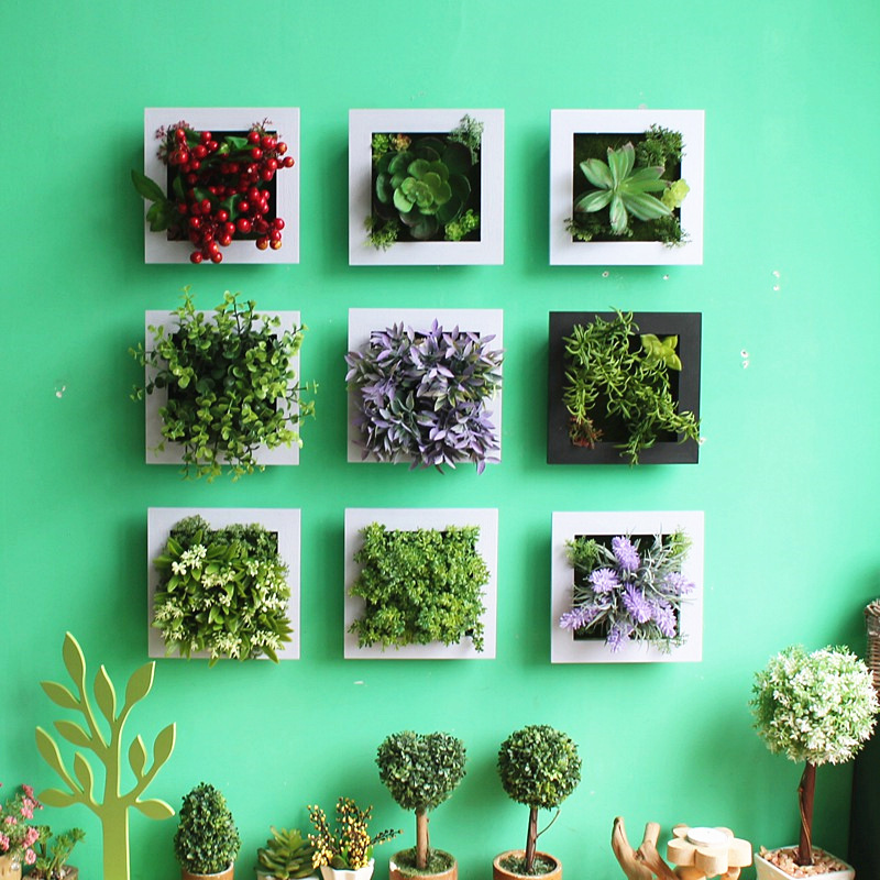 Buy new arrival 3d succulent plants for 3d flowers for wall decoration