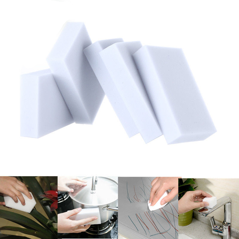 Multi-functional Magic Sponge Eraser Melamine Sponge Cleaner Eco-Friendly Home Accessories 100x60x20MM(China (Mainland))