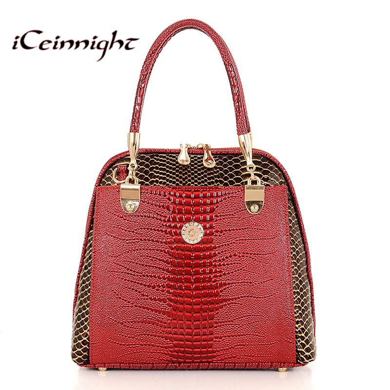 2016 Women Handbag PU Crocodile Leather Crossbody Bags Brand Tote Fashion Women Messenger Bags Clutch Shoulder Bag Bolsas hand(China (Mainland))