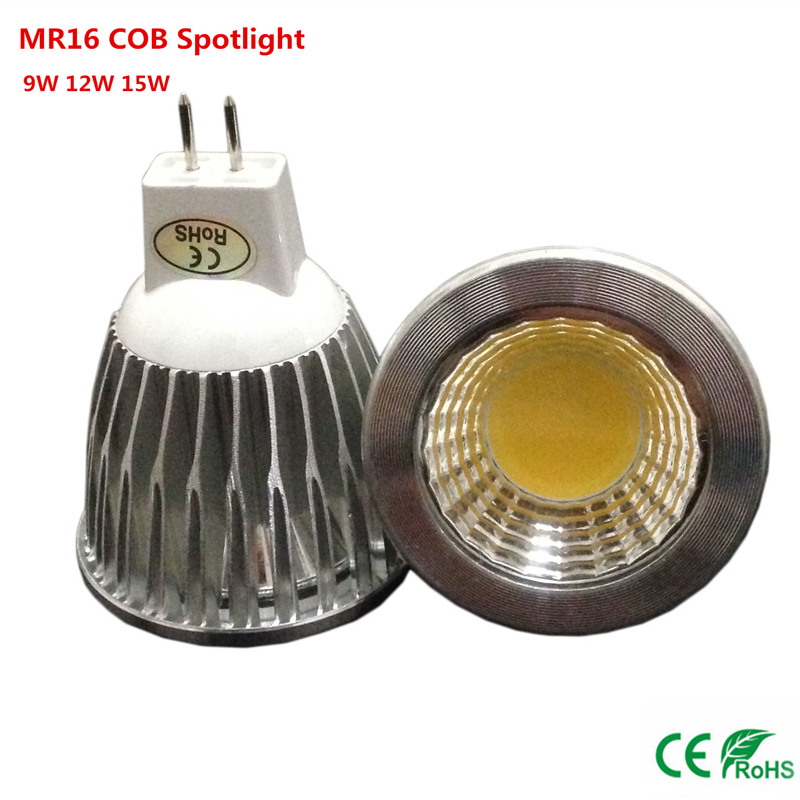 10pcs mr16 cob 12v led light bulb 9w 12w 15w cob led spot light bulb. Black Bedroom Furniture Sets. Home Design Ideas