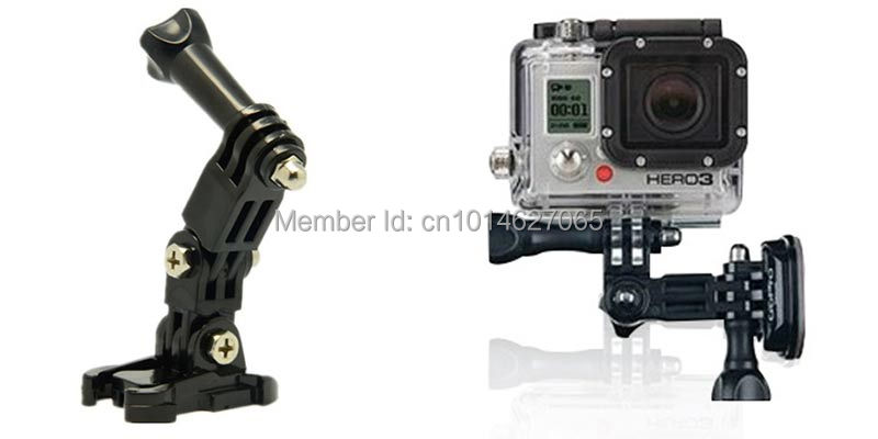 Hot Sell Gopro Accessories Set Kits for Gopro hero4 session 4 3 plus SJ4000 Xiaomi Yi 2 4k WIFI Action Camera