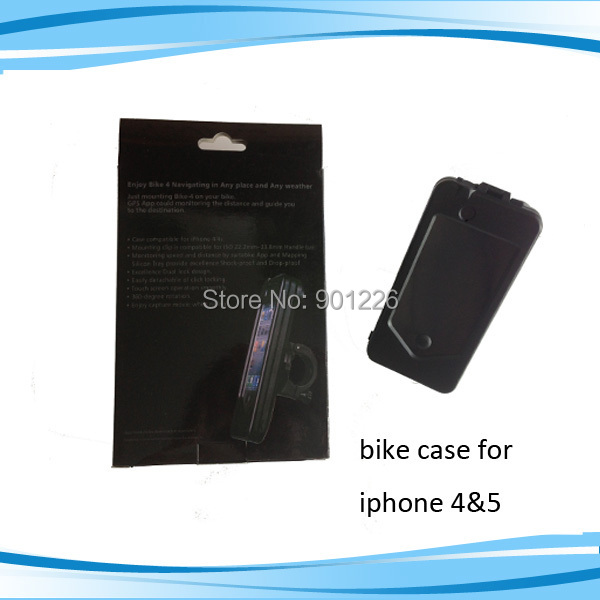 Bike mount cell phone case for iphone5(China (Mainland))