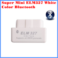 Diagnostic Tool Code Reader Super mini ELM327 Bluetooth OBD-II OBD Can White color 2.1 version