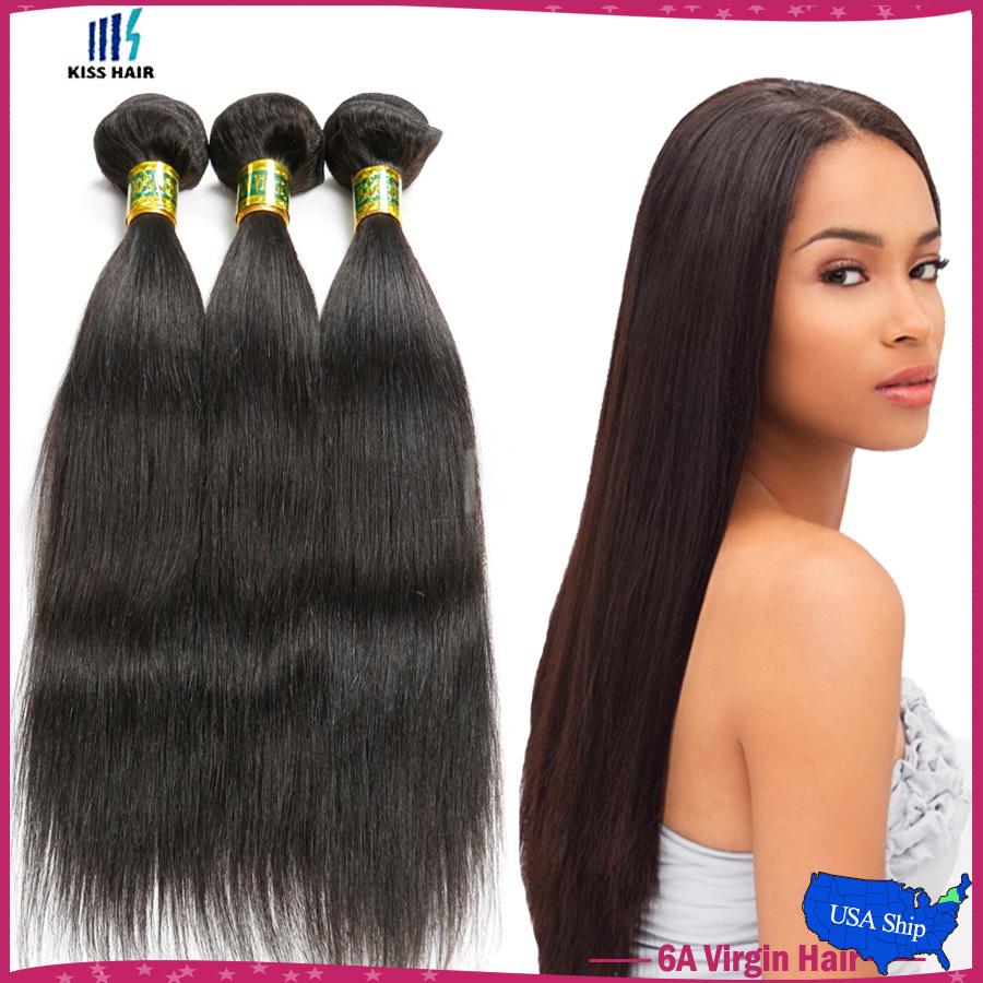"Indian virgin hair straight 3 bundles 10-28"" cheap good raw indian hair silky straight virgin hair extension straight human hair(China (Mainland))"