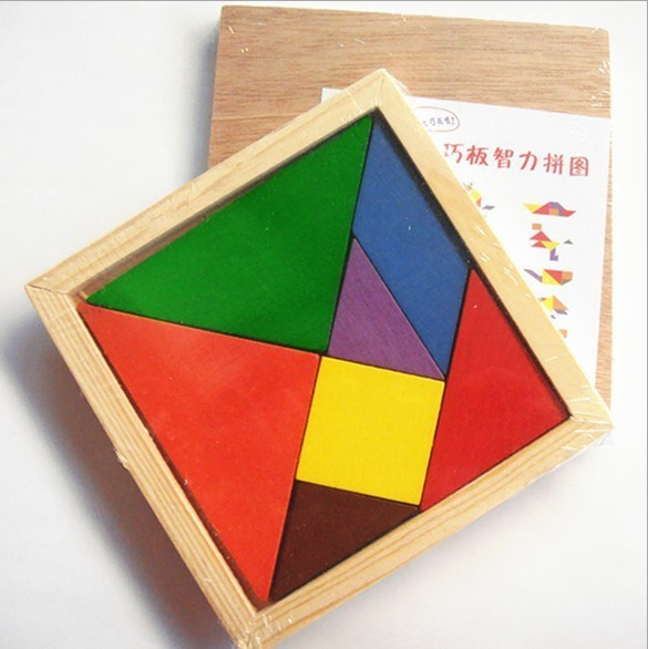 Brain Development Toys : New hot early childhood educational wooden jigsaw
