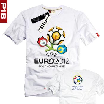 European cup short-sleeve memorial t-shirt male Women football cup short-sleeve T-shirt 876960 fans