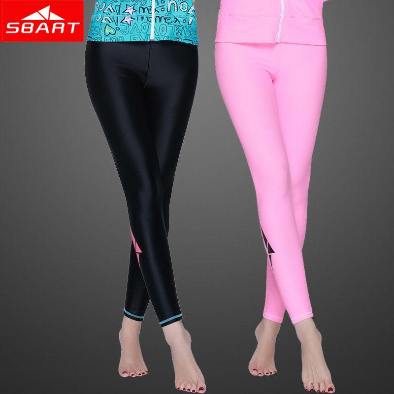 SBART 2015 Hot Sale 3 Colors Comfortable Women Rash Guard Pants Uv Protection Surf Dive Skin Swim Pants Long Swimming Leggings J(China (Mainland))