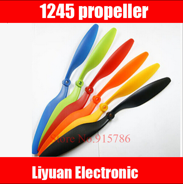 """10 pair 12x4.5 """"CW / CCW Propeller / 1245 Propeller for RC 4-axis Quadcopter Airplane Accessory(China (Mainland))"""