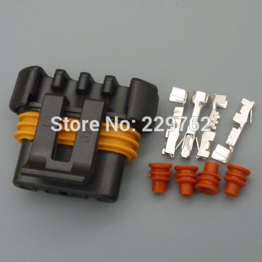 10Sets D580 LS1 LS6 Auto Ignition Coil Pack CoilPack Connector Case For Camaro Corvette Trans Am Car electrical connectors plug(China (Mainland))