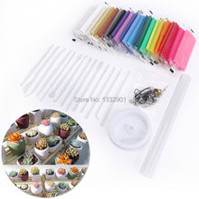 24Colour Fimo Clay Block Kit Bake Boil Polymer Clay Pack Modelling Clay Moulding(China (Mainland))