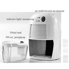 New Portable Mini Dehumidifier 36W Electric Quiet Air Dryer 110-220V Compatible Air Dehumidifier For Home Bathroom Office(China (Mainland))