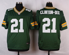 Green Bay Packers #18 Randall Cobb Elite White and Green Team Color free shipping(China (Mainland))