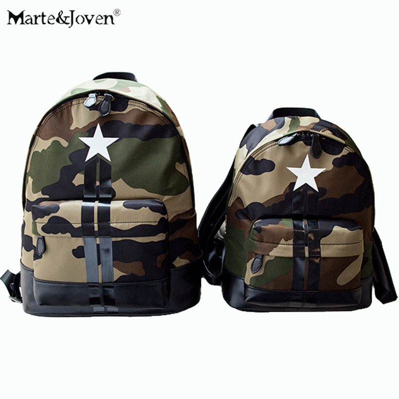 Hot Selling Unique Camouflage Backpacks Fashion Brand Design Star Pattern Schoolbags for Teenagers Best Backpack For Traveling(China (Mainland))