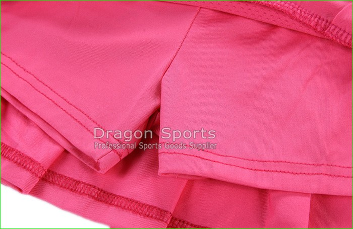 Sports Tennis Skirts Pleated A-line Skirt with Shorts Breathable Quick Dry Free Shipping