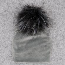 GZHilovingL ฤดูหนาวใหม่หนากำมะหยี่อบอุ่น Beanies หมวกสำหรับ Nebworn(China)