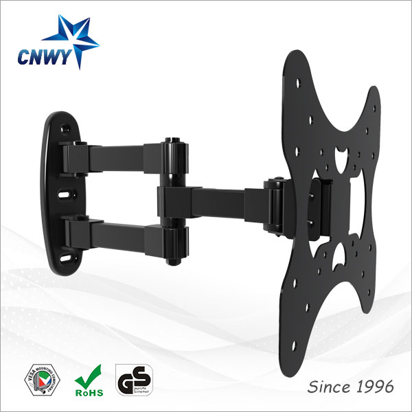 CNXD 2016 Low Profile Swivel And Tilt Plasma Screen LCD TV Wall Mount Bracket Suitable TV Size 17 to 32 inch(China (Mainland))