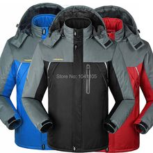Winter men jackets thermal jaqueta thick jacket coat Outdoor Sports ski camping climbing men jacket outwear Waterproof Windproof(China (Mainland))