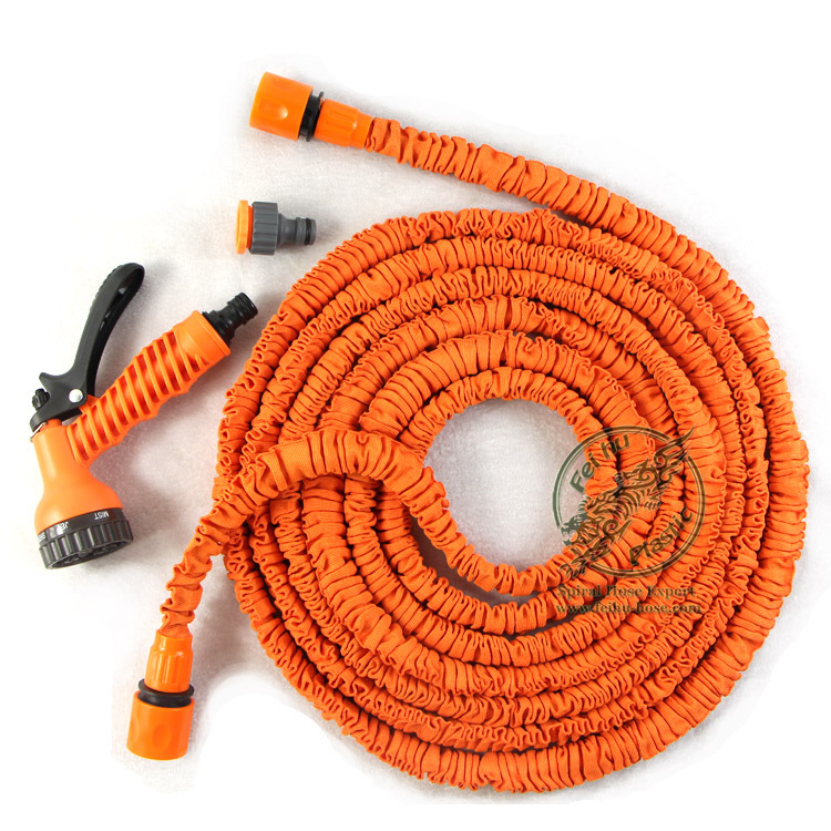 orange color garden hose 3
