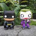 Funko pop DC The Joker Batman 01 Justice League Heroes Captain Amercan PVC Action Figure 10cm