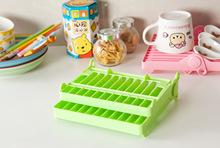 2016 New Arrival Kitchen Accessories Plastic Dish Rack Folding Rack Tableware Dinnerware Kitchen Storage Holders Racks