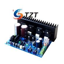 Buy A3 BASS 300W Power Amplifier Board Double Differential Input Audio AMP DIY Kit Unassembled for $34.49 in AliExpress store