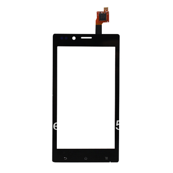 New Free shipping For Sony Xperia J ST26i ST26 Touch Screen with Digitizer Front glass